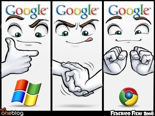 Google制作chrome三个步骤